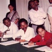 The President of SHAPE(Second from the right) in a National child welfare seminar - New Delhi