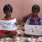 Art program for beneficiaries