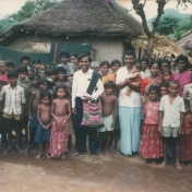 Child labourers and out of school children from an underprivileged community
