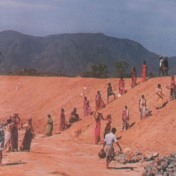 Watershed programme - digging water reserve