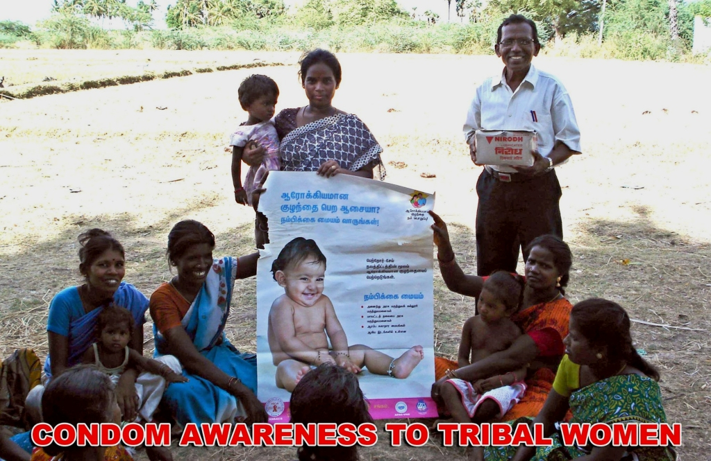 Condom awareness to tribal women