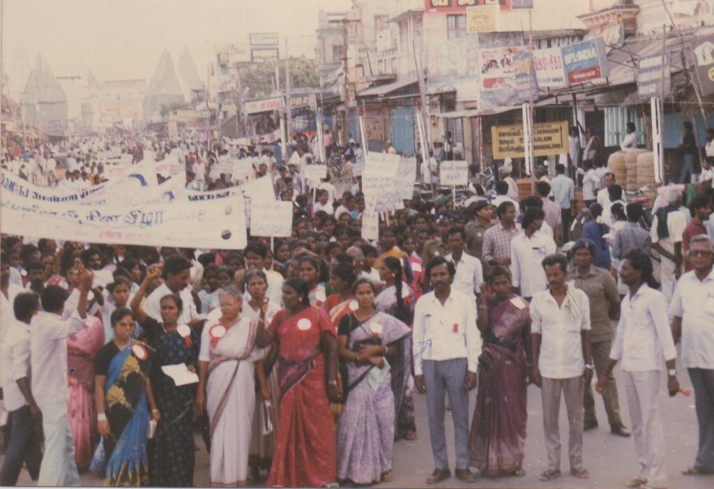 Raising rights awareness through mass gathering