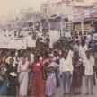 Raising awareness through mass gathering