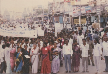 Celebrating Women's DAy through campaigning