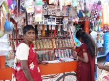 Fancy wear shop for a Widow Mrs. Mallika