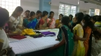 Handicrafts Training for beneficiaries