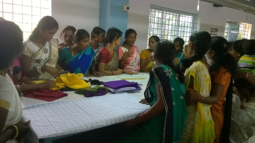 Beneficiary Women training on Handicrafts