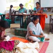 Women WSHG manufacturing uniforms