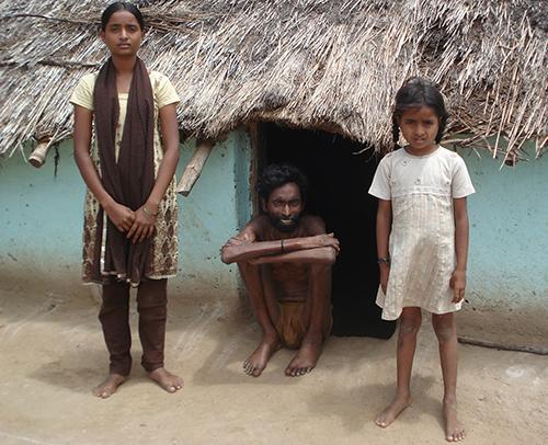 HIV victim family