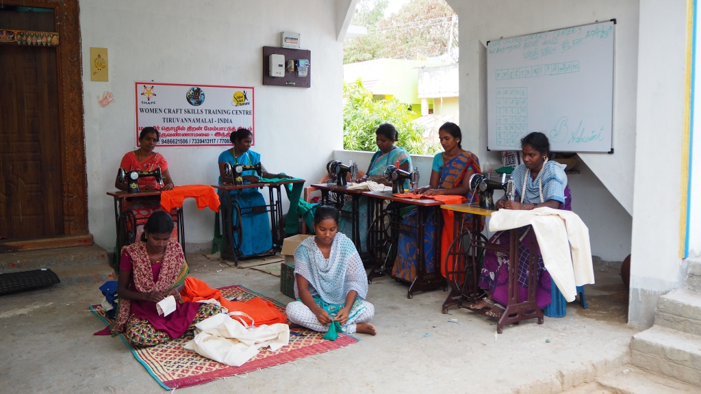 Vocational training for underprivileged women
