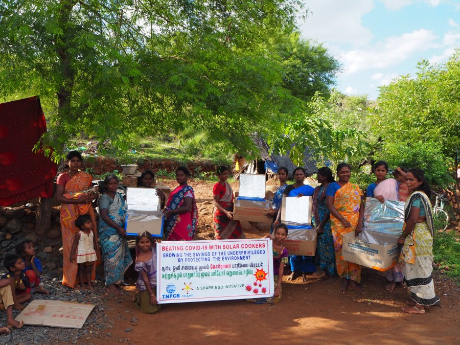 Tribals, COVID19, poverty and solar cooking